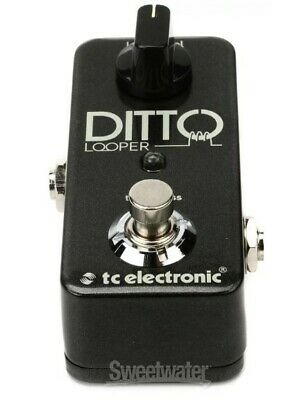 TC Electronic Ditto Looper Guitar Effect Pedal, 5 minute Looping Time, Used