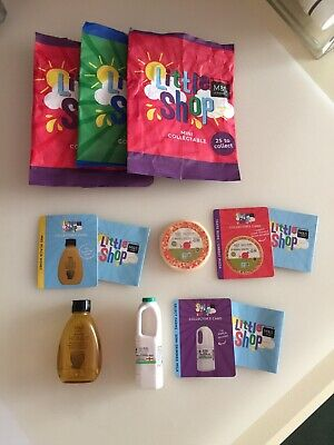M&S Little Shop Mini Collectables Opened x 3