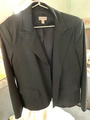 A Pea In The Pod Black Work Jacket Size M