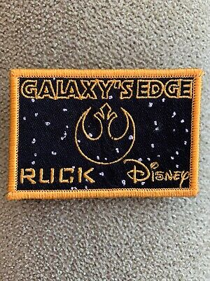 Disney Star Wars Galaxy's Edge Ruck patch