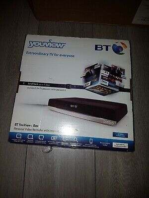 BT Youview DTR-T2110 500GB TV recorder internet enabled TV