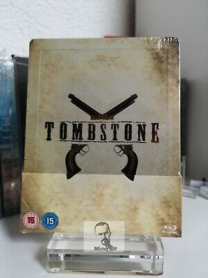 Tombstone - Limited Exclusive Blu Ray Steelbook Edition OOP /OOS Brand-new