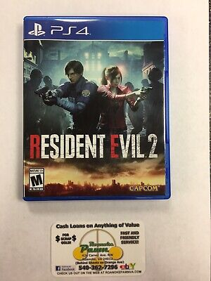 Resident Evil 2 (PlayStation 4, 2019) - Used - GENTLY USED!!