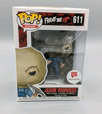 Funko POP! Movies #611 Jason Voorhees Bag Mask Walgreens Friday The 13th Vaulted