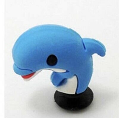 Awesome 3D Blue Dolphin For Crocs Shoe Charms