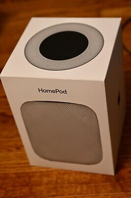 Apple HomePod Smart Speaker Space Gray Excellent Condition! Free Shipping! Nice!