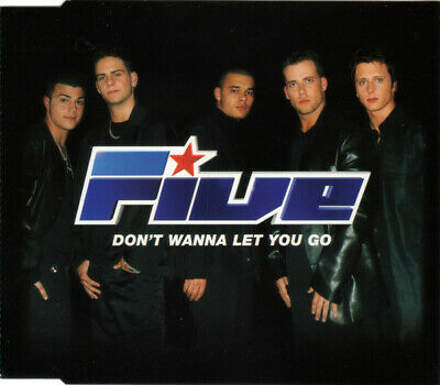 FIVE (POP) Don't Wanna Let You Go CD -74321745292  Rca, Bmg 2000