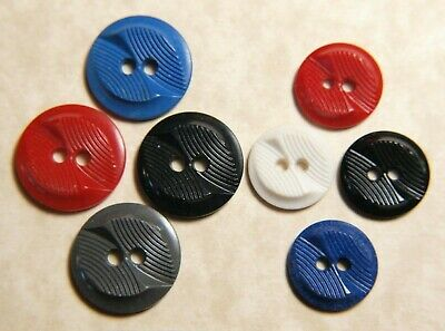 "Vintage matching lot of Colt like Buttons made by Synthetic Plastic Corp ""Susan"""