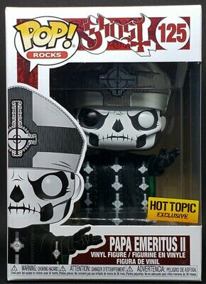 Funko Pop Rocks + Protector! Ghost #125 - Papa Emeritus II (Hot Topic Exclusive)