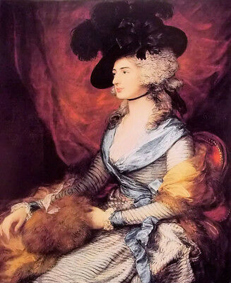 Dream-art Oil painting thomas gainsborough - mrs sarah siddons nice young lady