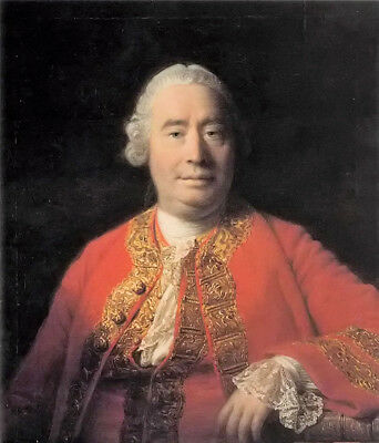 Dream-art oil painting Allan Ramsay - male portrait of david hume hand painted