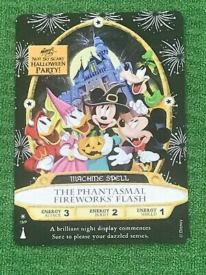 Sorcerers Of The Magic Kingdom 2019 Halloween Party Card Disney World MNSSHP