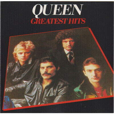 QUEEN Greatest Hits CD 17 Track Remastered Reissue (077778950424CDPCSD141)  Pa