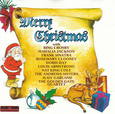 VARIOUS (70'S) Merry Christmas CD 24 Track (CD0200)  Entertainers 1990