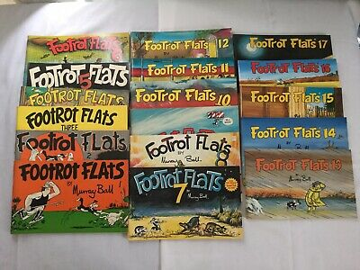 Collection Of Footrot Flats Books (1 - 17 ) By Murray Ball