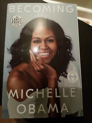 Becoming Random House Large Print by Michelle Obama Law Paperback NEW TOP SELLER