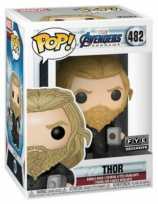Fye Exclusive Funko Pop 482 Marvel Avengers Endgame Thor W/ Weapon Mint In Hand