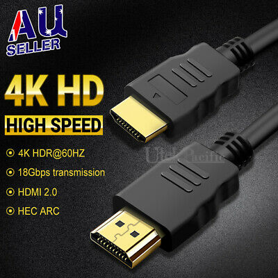 HDMI Cable 3D Ultra HD 4K 2160p 1080p High Speed with Ethernet HEC ARC V2.0