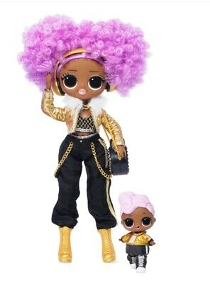 New LOL SURPRISE 24K D.J. & DJ -OMG WINTER DISCO DOLL 2019 Ready to ship
