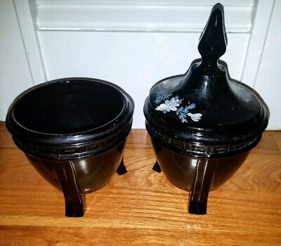 Antique Footed Vases by Smith Handmade ~