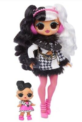 In Hand LOL SURPRISE DOLLIE / DOLLFACE Sister OMG WINTER DISCO DOLL 2019