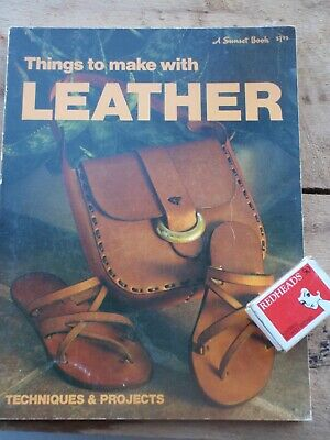 Leather Work instruction book