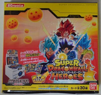 Super Dragon Ball Heroes - PUMS6-01~30 BOX Ultimate Booster Pack (20 Boosters)