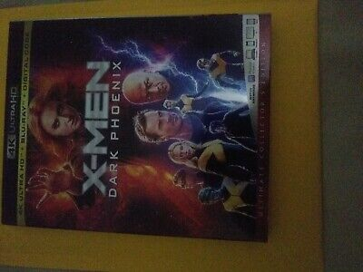 X-Men Dark Phoenix 4K ultra and Blu-ray WITH  Slipcover NO DIGITAL