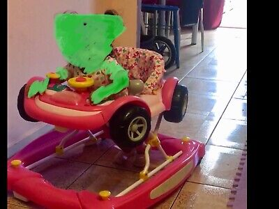 Baby walker rocker,activity centre, pink,musical,toy for baby girl,toddler