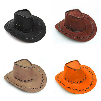Mens Ladies Wild Western Cowboy Indian Rodeo Cowgirl Fancy Dress Costume Hats UK