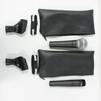 Shure SM58 SM57 All Purpose Microphones With Cases #452