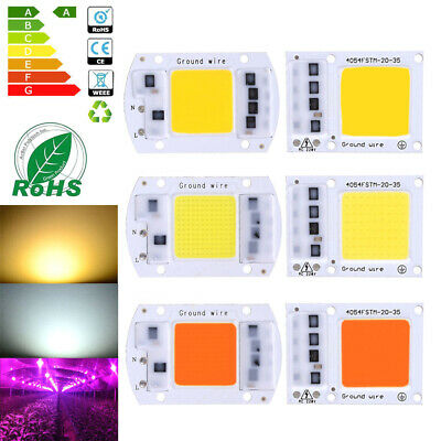 30W 50W 70W 100W LED Puce COB Chip High Power Smart IC Driver Floodlight 220V