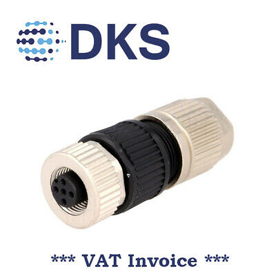 Harting 21032122305 Cable Socket M12 4P Female HARAX A Coded DeviceNet 001476