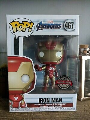 Funko Pop Vinyl - Iron Man 467 - Exclusive - Avengers Endgame - New