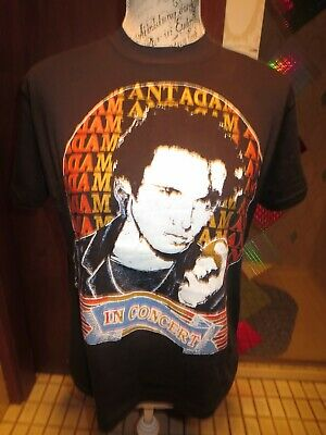 Adam And The Ants Vintage Tshirt  !! Wow!! Fitted Size M