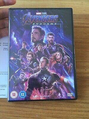 Marvel Avengers Endgame 2019 Dvd New And Sealed With Receipt