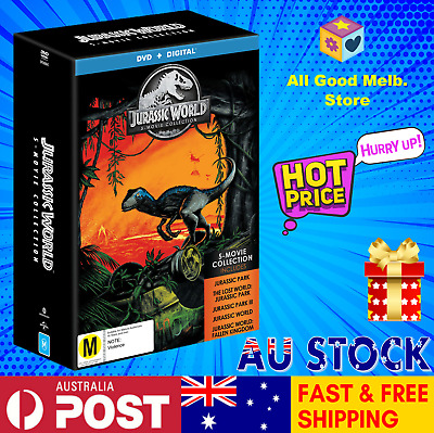 * Jurassic World 5 Movie Pack DVD Collection NEW SEALED