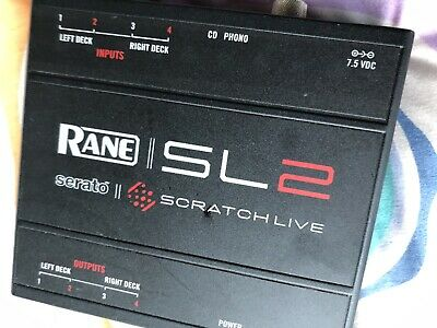 Rane Serato DJ Scratch Live SL2 Digital Interface Turntable Controller Box