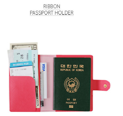 NEW STYLE FABRIC RFID Block Passport Holder Wallet Travel Card Case Organizer AU