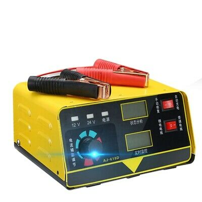 Car Battery Charger 12V 24V Full Automatic Motorcycle Electric 400Ah Car Ba G6Q4