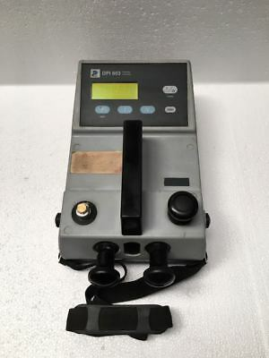 Ge Druck Dpi 603 Pressure Calibrator (-0.9) To 20 Bar Capacity Uu