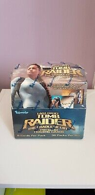 Lara Croft Tomb Raider The Cradle Of life Trading Cards Booster Box Sealed