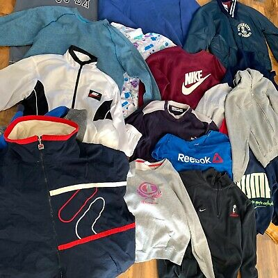 Mixed Branded Vintage Wholesale Box-50 Pieces-Job Lot Sportswear Starter Pack Uk