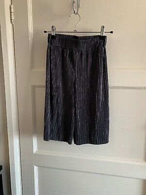 Girls Next Wide Leg Culottes Palazzo Crop Trousers Pleated Age 5 4-5 Party Disco