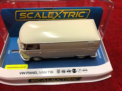 Scalextric C4092 Vw Panel Van T1B Old English White Limited Edition Only  200