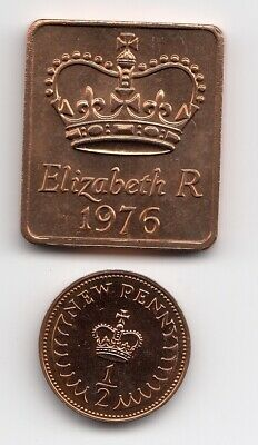 "1976 SHIELD & 1/2p In "" POOF "" Condition an Extremely Nice 1/2p Piece   (1562)"