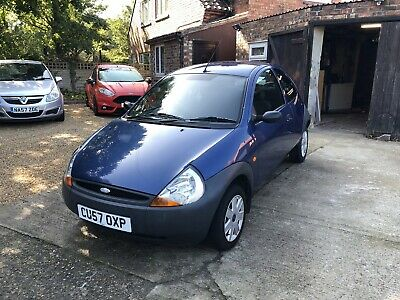Ford KA 1.3 55k 2007 Petrol Blue