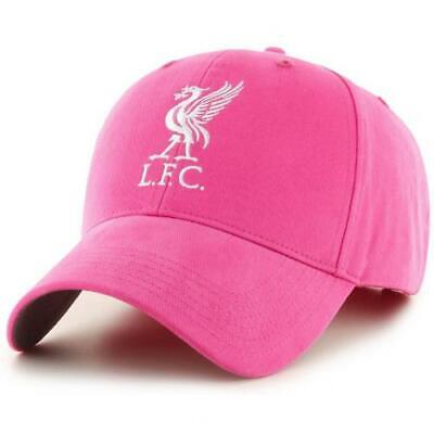Liverpool Fc Pink Colour Adult Baseball Cap Hat One Size New Xmas Gift