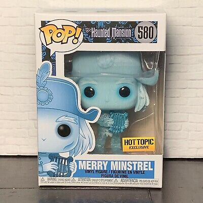 Funko Pop! Disney Haunted Mansion Merry Minstrel - Hot Topic Exclusive