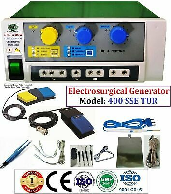 400 W Electrosurgical Generator Electro Surgical Cautery 400W TUR under water Cu